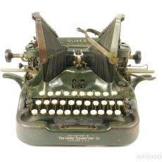 Antigüedades: MAQUINA DE ESCRIBIR OLIVER Nº10 AÑO 1914 TYPEWRITER SCHREIBMASCHINE ECRIRE. Lote 222280338