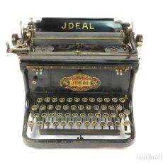 Antigüedades: MAQUINA DE ESCRIBIR JDEAL 5 AÑO 1920 TYPEWRITER SCHREIBMASCHINE ECRIRE. Lote 222280988