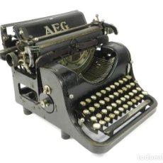 Antigüedades: MAQUINA DE ESCRIBIR AEG AÑO 1920 TYPEWRITER SCHREIBMASCHINE MACHINE A ECRIRE. Lote 222282631