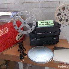 Antigüedades: ENVIO: 7€ EUMIG MARK S 804-D 2 TRACK PROYECTOR DE CINE SUPER8 + 8MM FUNCIONANDO + REGALOS!. Lote 222286090
