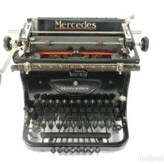 Antigüedades: MAQUINA DE ESCRIBIR MERCEDES AÑO 1925 TYPEWRITER SCHREIBMASCHINE A ECRIRE. Lote 222302420