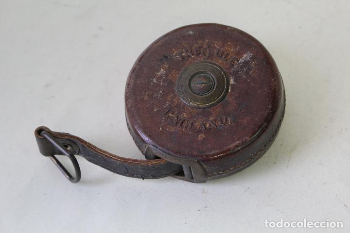 Antigüedades: cinta metrica antigua 5m. - Foto 3 - 222302727
