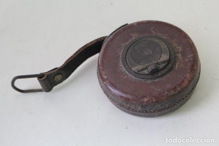 Antigüedades: cinta metrica antigua 5m. - Foto 5 - 222302727