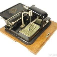 Antigüedades: MAQUINA DE ESCRIBIR GENIA MIGNON AÑO 1924 TYPEWRITER SCHREIBMASCHINE A ECRIRE. Lote 222309297