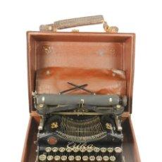 Antigüedades: MAQUINA DE ESCRIBIR ERIKA 1 AÑO 1911 Nº.SERIE 595 TYPEWRITER SCHREIBMASCHINE. Lote 222311988