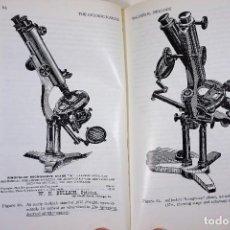 Antiquités: HISTORIA DEL MICROSCOPIO. LIBRO 'SHORT HISTORY OF THE EARLY AMERICAN MICROSCOPES' 1975. Lote 222319091