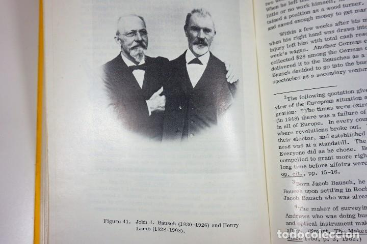 Antigüedades: Historia del Microscopio. Libro 'Short History of the Early American Microscopes' 1975 - Foto 9 - 222319091