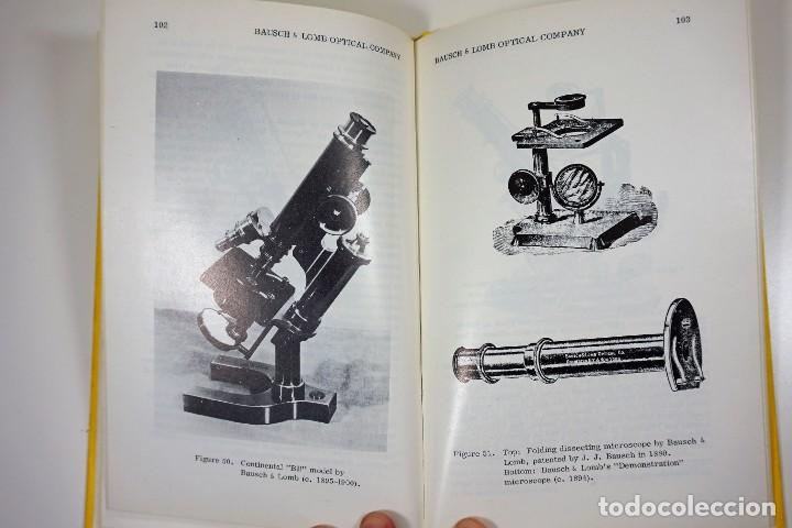 Antigüedades: Historia del Microscopio. Libro 'Short History of the Early American Microscopes' 1975 - Foto 12 - 222319091