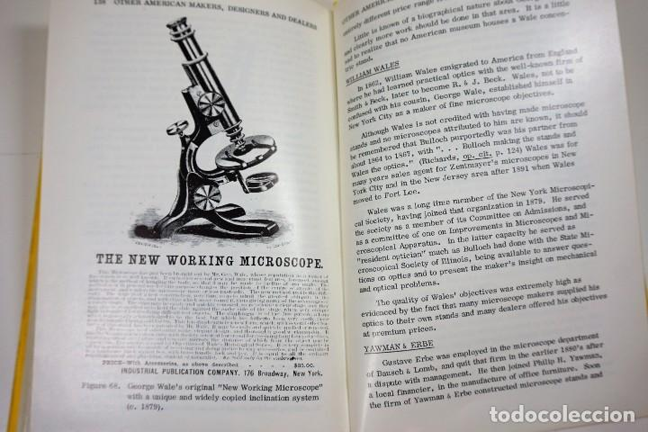 Antigüedades: Historia del Microscopio. Libro 'Short History of the Early American Microscopes' 1975 - Foto 15 - 222319091