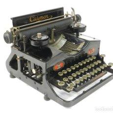 Antigüedades: MAQUINA DE ESCRIBIR CARMEN AÑO 1920 TYPEWRITER SCHREIBMASCHINE A ECRIRE. Lote 222325171