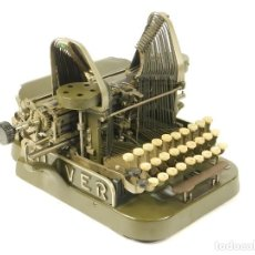 Antigüedades: MAQUINA DE ESCRIBIR OLIVER Nº3 AÑO 1899 TYPEWRITER SCHREIBMASCHINE A ECRIRE. Lote 222326372