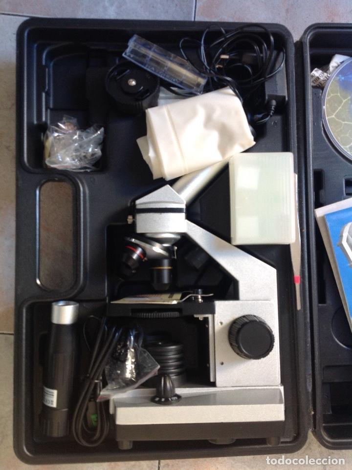 Antigüedades: Microscopio electrónico Bresser - Foto 2 - 222326862