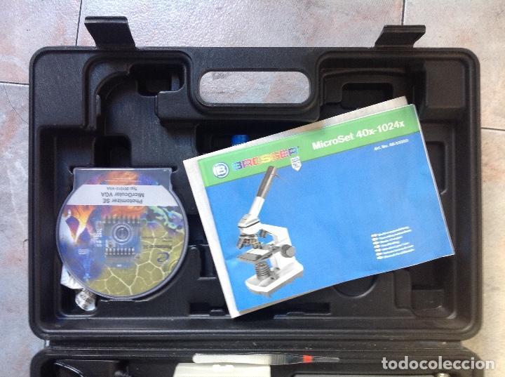 Antigüedades: Microscopio electrónico Bresser - Foto 3 - 222326862