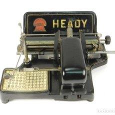 Antigüedades: MAQUINA DE ESCRIBIR HEADY MIGNON AÑO 1913 TYPEWRITER SCHREIBMASCHINE A ECRIRE. Lote 222328563