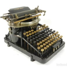 Antigüedades: MAQUINA DE ESCRIBIR YOST Nº4 AÑO 1895 TYPEWRITER SCHREIBMASCHINE MACHINE ECRIRE. Lote 222329668