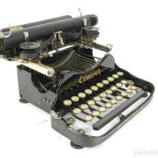Antigüedades: MAQUINA DE ESCRIBIR CORONA Nº3 AÑO 1917 TYPEWRITER SCHREIBMASCHINE A ECRIRE. Lote 222331615