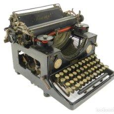 Antigüedades: MAQUINA DE ESCRIBIR TRIUMPH Nº1 1909 TYPEWRITER SCHREIBMASCHINE A ECRIRE. Lote 222335077