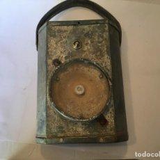 Antigüedades: ANTIGUA LINTERNA MINERO COMPLETA NO FUNCIONA. Lote 222347032