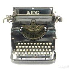 Antigüedades: MAQUINA DE ESCRIBIR AEG AÑO 1920 TYPEWRITER SCHREIBMASCHINE MACHINE A ECRIRE. Lote 222359545