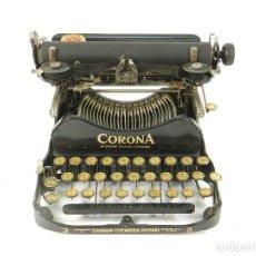 Antigüedades: MAQUINA DE ESCRIBIR CORONA Nº3 AÑO 1912 TYPEWRITER SCHREIBMASCHINE A ECRIRE. Lote 222365492