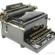 Antigüedades: RARA MAQUINA DE ESCRIBIR CULEMA AÑO 1924 TYPEWRITER SCHREIBMASCHINE A ECRIRE. Lote 222379318