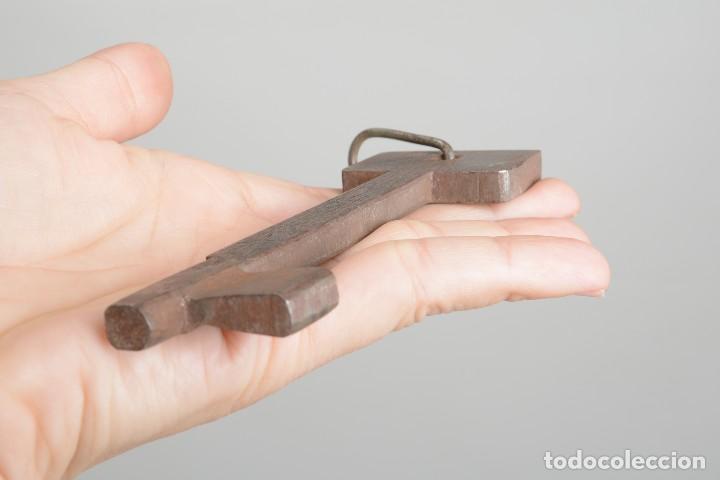Antigüedades: Gran Llave vintage de hierro - Foto 8 - 222383970