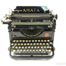 Antigüedades: RARA MAQUINA DE ESCRIBIR AMATA AÑO 1923 AUSTRIA TYPEWRITER SCHREIBMASCHINE. Lote 222385746