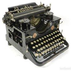 Antigüedades: RARA MAQUINA DE ESCRIBIR RADIO AÑO 1926 TYPEWRITER SCHREIBMASCHINE A ECRIRE. Lote 222392371