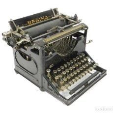 Antigüedades: RARA MAQUINA DE ESCRIBIR REGINA Nº3 AÑO 1917 TYPEWRITER SCHREIBMASCHINE ECRIRE. Lote 222394453