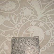 Antigüedades: ANTIGUA PLACA DE COBRE CON GRABADO PARA GRABAR - INPRIMIR EN PAPEL MATRIZ IMPRENTA AÑOS 20-30. Lote 222397322