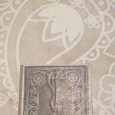 Antigüedades: ANTIGUA PLACA DE COBRE CON GRABADO PARA GRABAR - INPRIMIR EN PAPEL MATRIZ IMPRENTA AÑOS 20-30. Lote 222397598