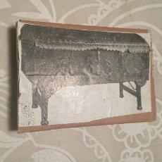 Antigüedades: ANTIGUA PLACA DE COBRE CON GRABADO PARA GRABAR - INPRIMIR EN PAPEL MATRIZ IMPRENTA AÑOS 20-30. Lote 222398101