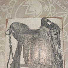 Antigüedades: ANTIGUA PLACA DE COBRE CON GRABADO PARA GRABAR - INPRIMIR EN PAPEL MATRIZ IMPRENTA AÑOS 20-30. Lote 222398203