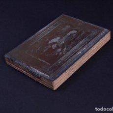 Antigüedades: ZINCOGRABADO, CLICHE PARA IMPRESION. ESTAMPA DE LA VIRGEN CON NIÑO JESUS. Lote 222416070