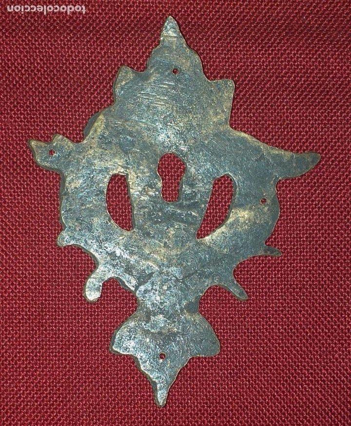 Antigüedades: BOCA LLAVE O ESCUDO DE BRONCE SIGLO XIX - Foto 2 - 222417097