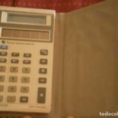 Antigüedades: ANTIGUA CALCULADORA, TEXAS INSTRUMENTS. (CON FUNDA.). Lote 222430756