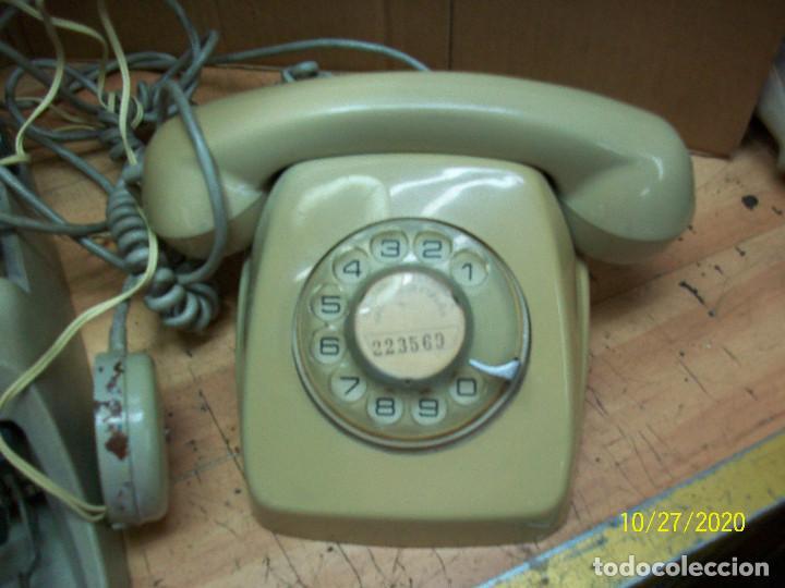 Antigüedades: LOTE DE MAQUINA DE ESCRIBIR-UNDERWOOD-MODELO 18 MAS TELEFONO - Foto 3 - 222446532