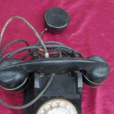 Teléfonos: ANTIGUO TELÉFONO DE BAQUELITA. Lote 222454628