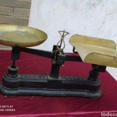 Antigüedades: INCREÍBLE BALANZA 25 KG. Lote 222455022