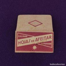 Antigüedades: FUNDA DE HOJA DE CUCHILLA DE AFEITAR ANTIGUA. HOJAS DE AFEITAR ESTRELLA.. Lote 222456771