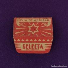 Antigüedades: FUNDA DE HOJA DE CUCHILLA DE AFEITAR ANTIGUA. SELECTA.. Lote 222456802
