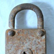 Antigüedades: CANDADO ANTIGUO , SIN LLAVE, 8.8 CMS X 5.4 CMS. Lote 222478341