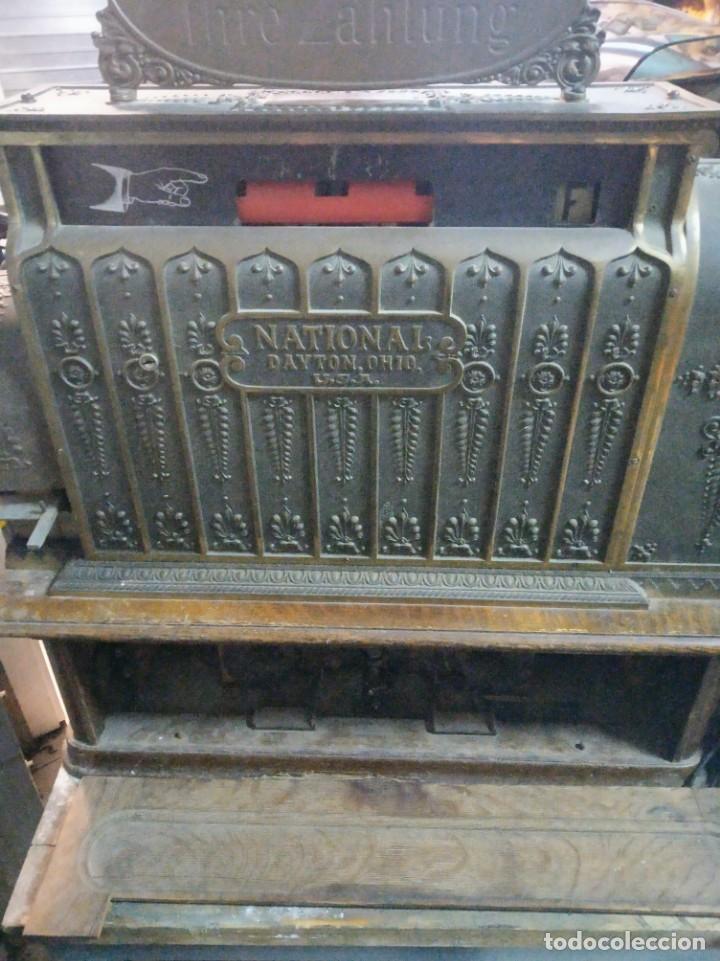 Antigüedades: REGISTRADORA NATIONAL DE 1909 - Foto 5 - 218795798