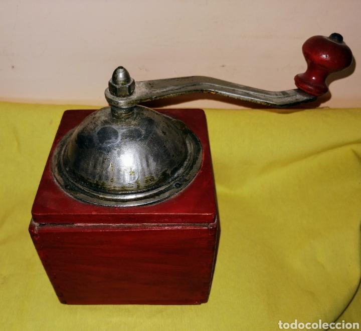 Antigüedades: MOLINILLO DE CAFE. MARCA : GEBA. MADERA Y METAL. ENVIO CERTIFICADO INCLUIDO. - Foto 6 - 222494636