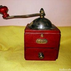 Antigüedades: MOLINILLO DE CAFE. MARCA : GEBA. MADERA Y METAL. ENVIO CERTIFICADO INCLUIDO.. Lote 222494636