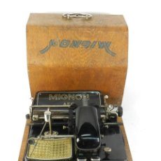 Antigüedades: MAQUINA DE ESCRIBIR MIGNON Nº4 AÑO 1924 TYPEWRITER SCHREIBMASCHINE A ECRIRE. Lote 222540048