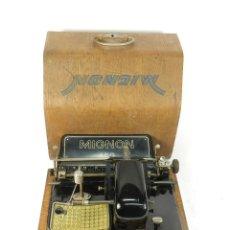 Antigüedades: MAQUINA DE ESCRIBIR MIGNON Nº4 AÑO 1924 TYPEWRITER SCHREIBMASCHINE A ECRIRE. Lote 222542158