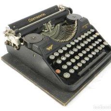 Antigüedades: MAQUINA DE ESCRIBIR CONTINENTAL WANDERER 34 DE 1932 TYPEWRITER SCHREIBMASCHINE. Lote 222543047