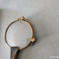 Antigüedades: ANTIGUOS IMPERTINENTES CHAPADOS EN ORO. CON MARCAJES EN INTERIOR. DESPLEGABLES. LOS DE LA FOTO.. Lote 222560781