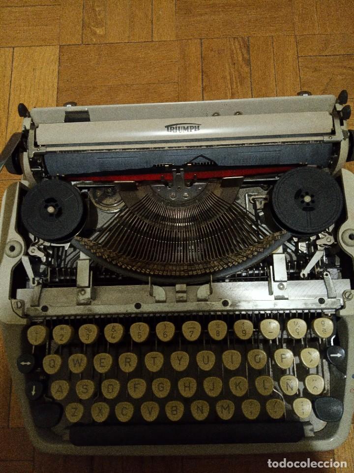 Antigüedades: Máquina de escribir Triumph Tippa 1 - Foto 4 - 275990958